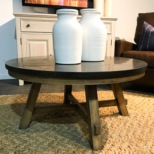 Blue Stone Coffee Table - Round