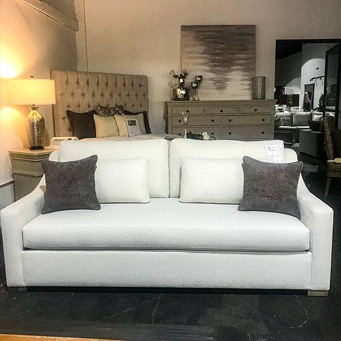 Classic Slope Arm Sofa - Ivory