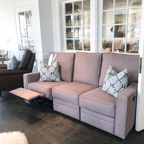 Square Arm Reclining Sofa - Manual