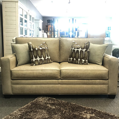 Square Small Sofa - Leather