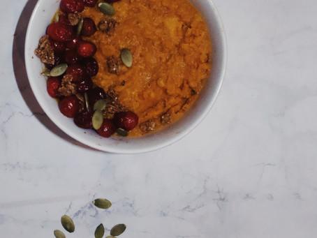 Sweet Potato Breakfast Mousse