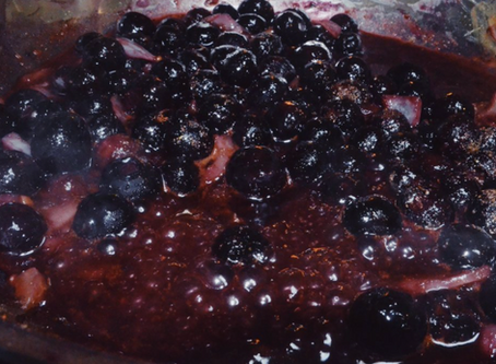 Blueberry-Ginger Chutney