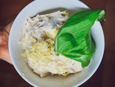 Vegan Lemon Cream Pasta Sauce