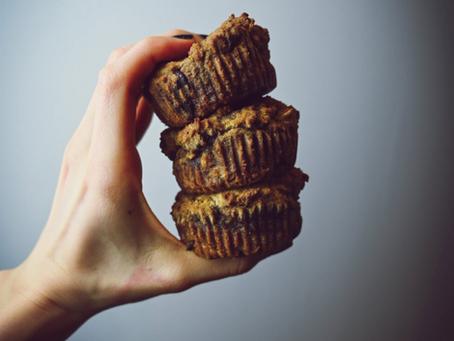 Hazelnut Cacao Muffins