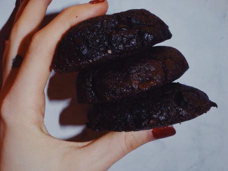 Tahini Brownie Cookies