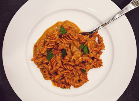 Easy Vegan Romesco Pasta Sauce