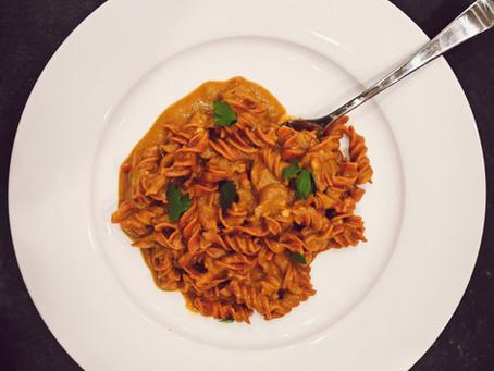 Easy Vegan Romesco Pasta Sauce