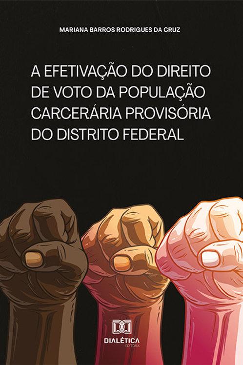 A efetivação do direito de voto da população carcerária provisória do DF