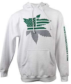 Cough Country Classic Hoodie- WHITE