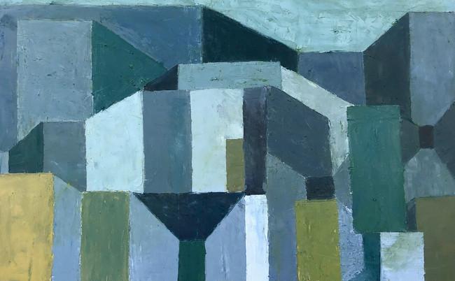 """Memoir, Oil on Canvas,48""""x30"""", 2020"""