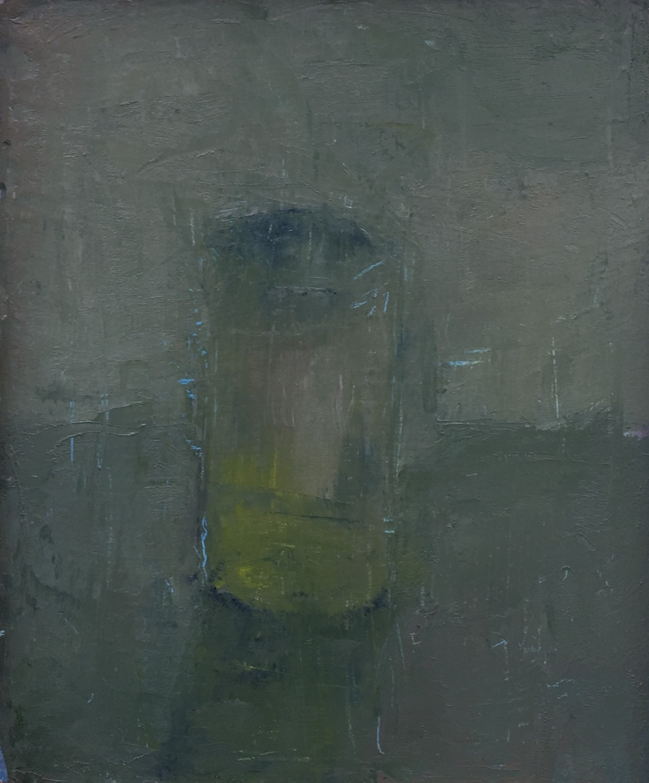 """Jar, Oil on Panel, 6""""x5"""", 2020"""