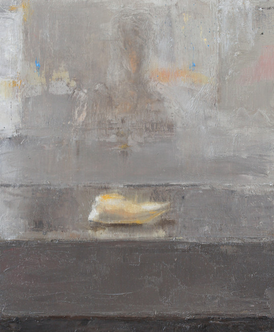 """Tooth, Oil on Panel, 7""""x6"""", 2019"""