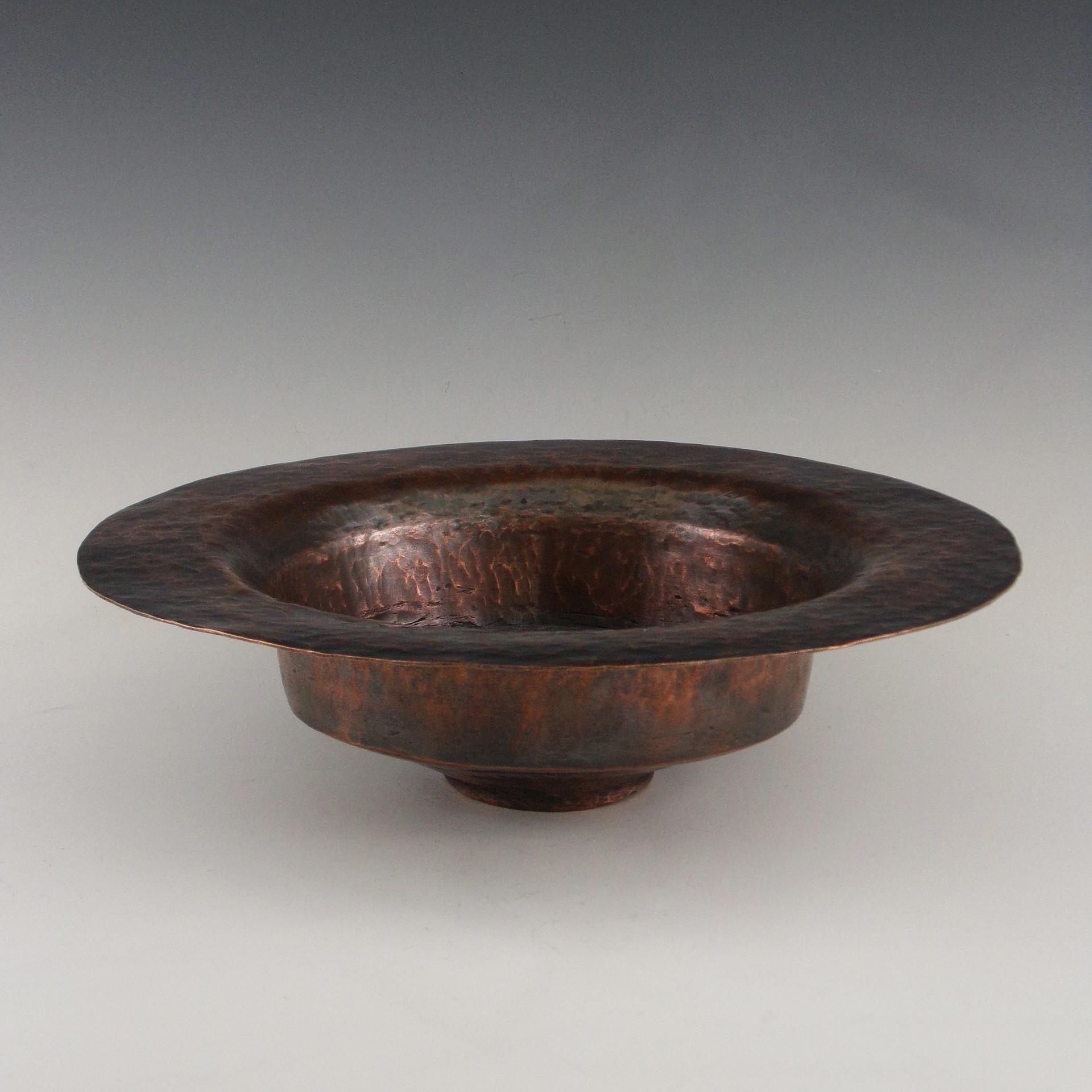 Copper Bowl, Raised Copper, 2018