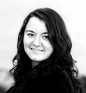 professional profile - black and white -