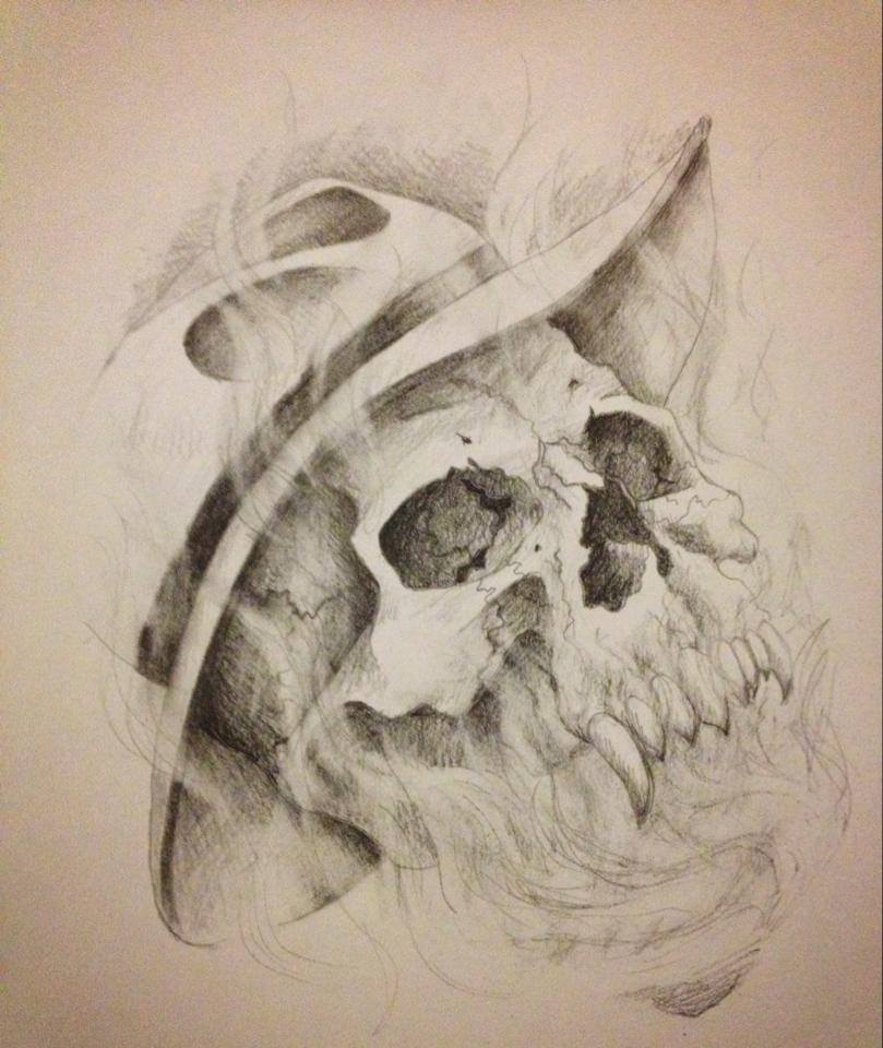 Commissioned Skull