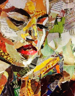 Paper Collage Art Lesson