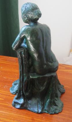 Live model sculpture study