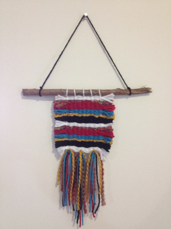 Custom Navajo Weaving Art Lesson
