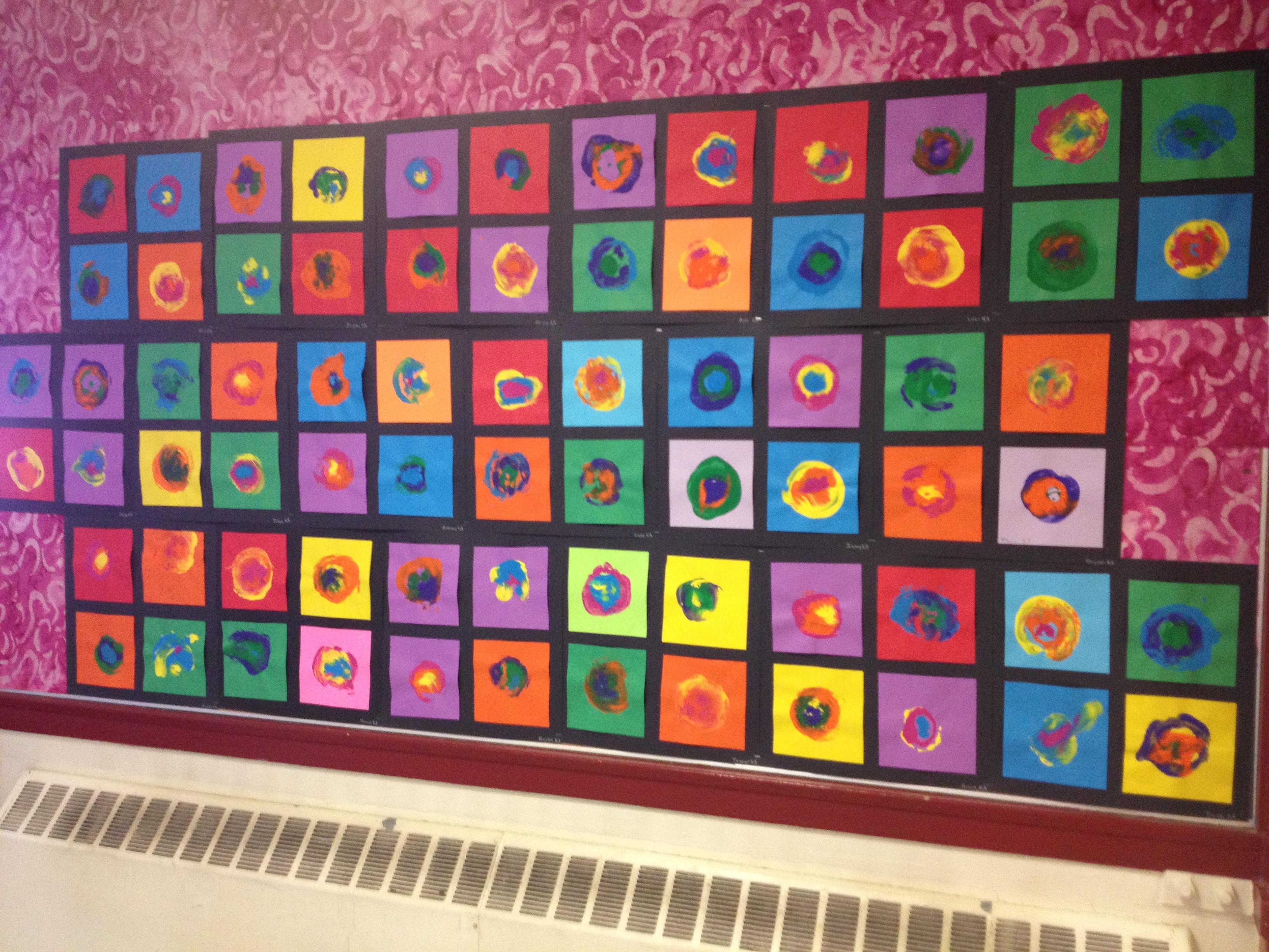 Custom Kandinsky Art Lesson