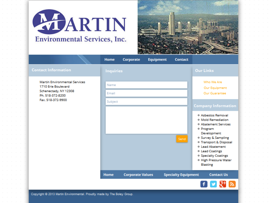 Martin Environmental Services, Inc.