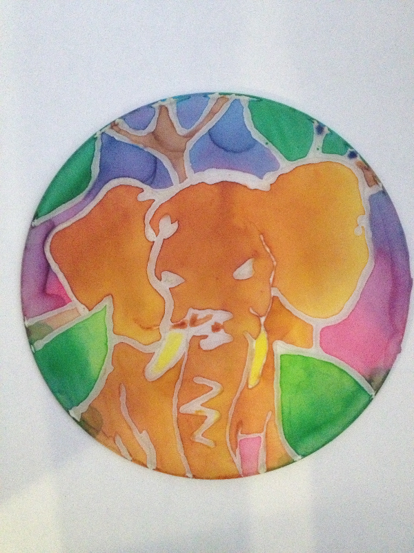 Custom Silk Painting Art Lesson