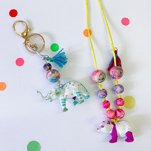 Paint Your Own Animal Necklace or Keychain Workshop