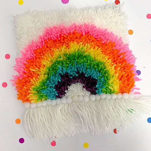 Take Home Craft Kit - Rainbow Latch Hook Kit