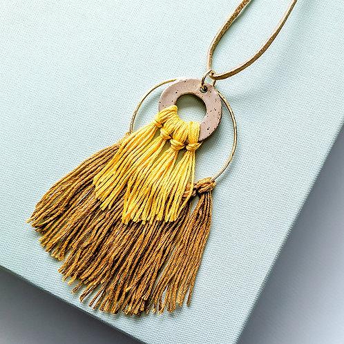 Navona Handmade - Fringe Necklace Craft Kit