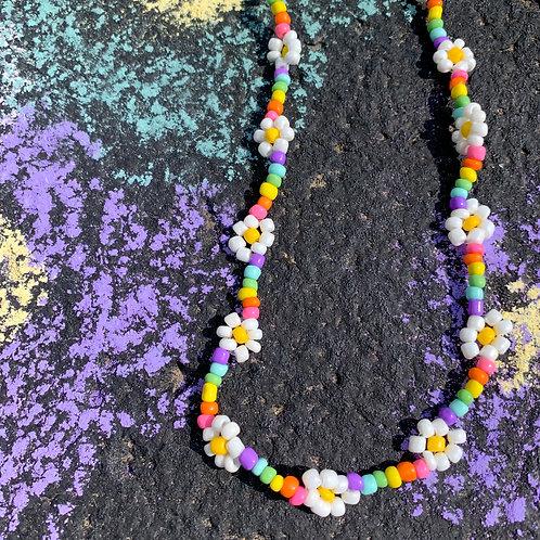 Beaded Flower Necklace Kit
