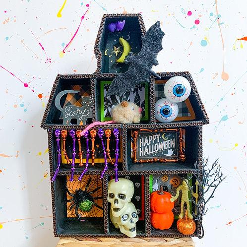 Haunted House Shadow Box - Take Home Kit