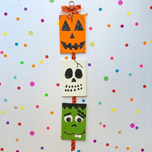 Halloween Mini Canvas Painting - Take Home Kit