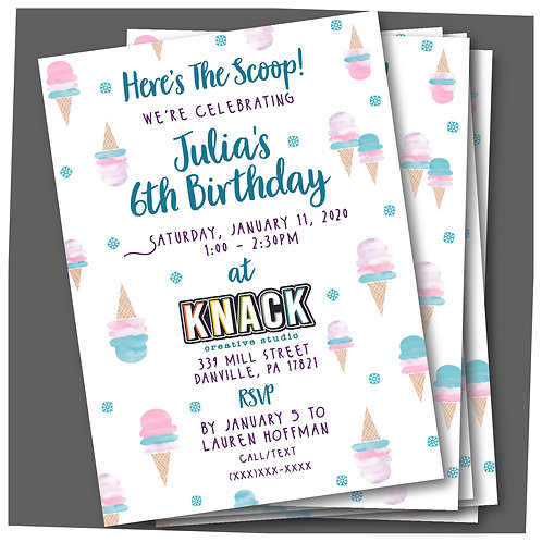 Custom Party Invites