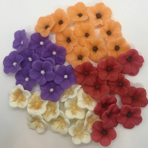 Fall Flower Embeds