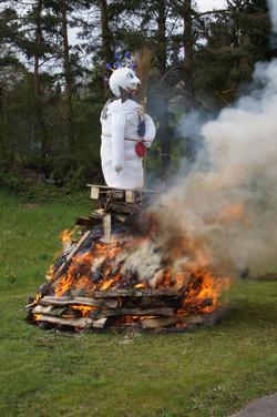 Böög brennt