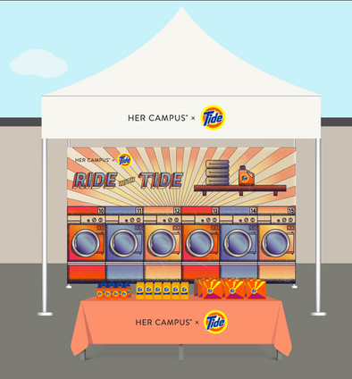 Tide Experiential Mockup