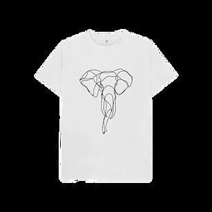 eco friendly elephant tshirt