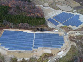 太陽光発電所設計施工事例