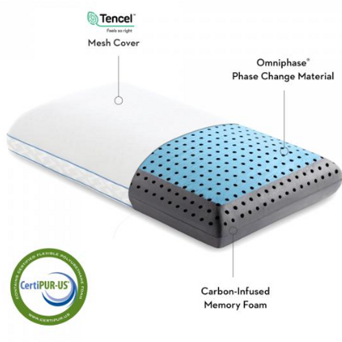 Z Carbon Cool Omniphase® LT Pillow