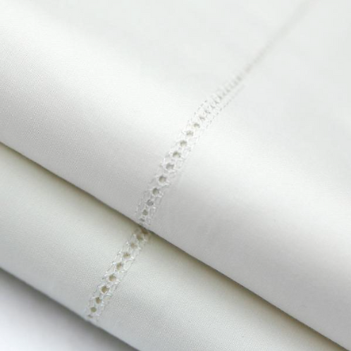 Woven Italian-Made Artisan Egyptian Cotton Pillowcase Set