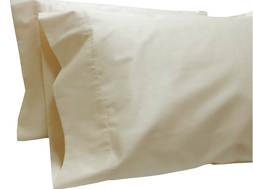 Pure Collection Pillow Cases - One Pair