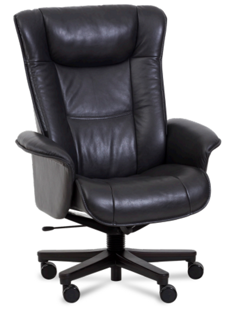 Windsor Leather Desk Chair