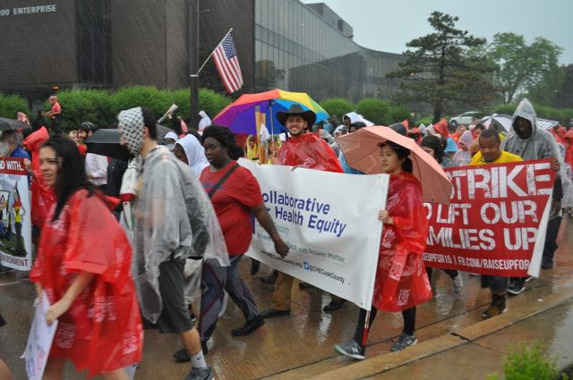 Rain or Shine, we're here to fight.