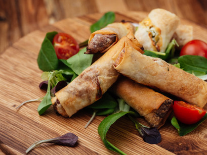 Dementia-Friendly Foods: Veggie Spring Rolls