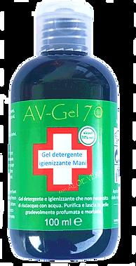 AV-GEL 70 ml igienizzante mani