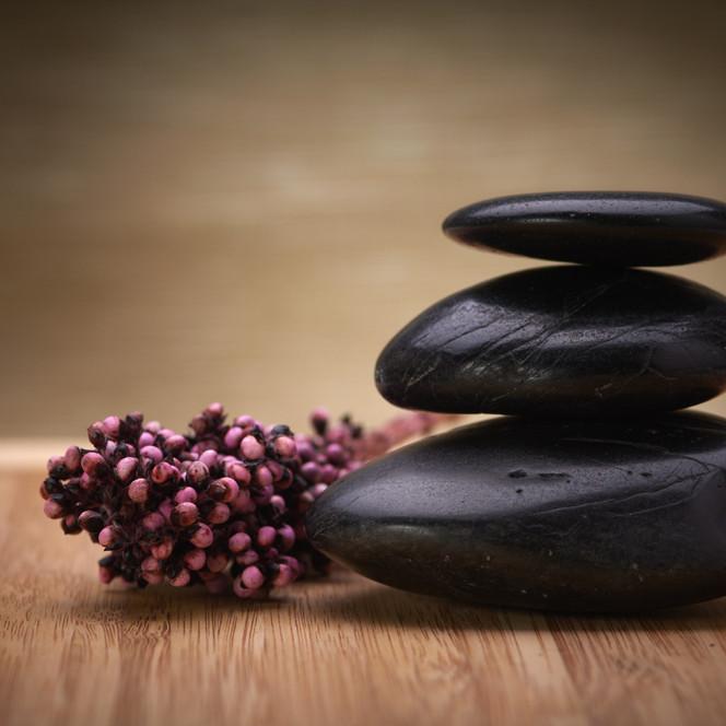 Hot Stone Restorative Yoga - Relax & Restore