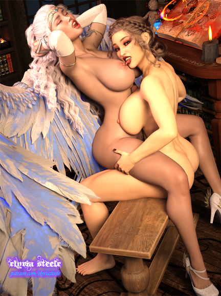 Mireille and Mistress Selyndria