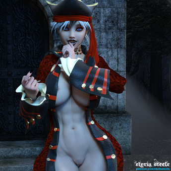 Lady Velyndra beckons you to join her in the moonlight.