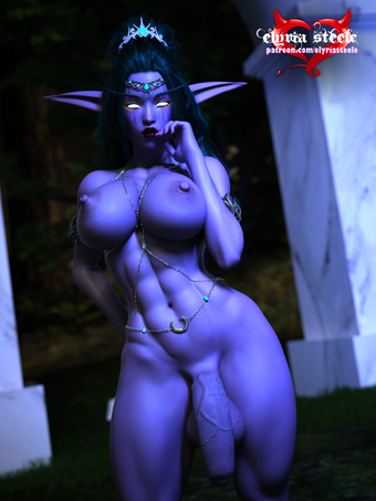 An unwatermarked version of this picture, a flaccid horsecock variant and a female variant are available on my Patreon at the $1 tier, and 4K versions of each plus erect futa and horsecock variants are available at the $3 tier.