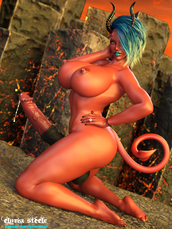 Vh'saya the demoness is ready to sin.