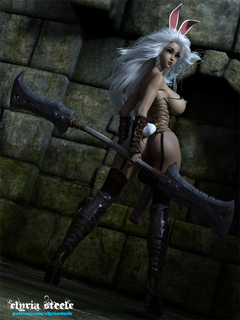 Deep in the depths of a dark dungeon, Honey is caught off guard!